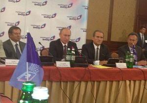 Хрещення Русі - Путін - Медведчук - Після зустрічі з Януковичем Путін поїхав до Медведчука на круглий стіл