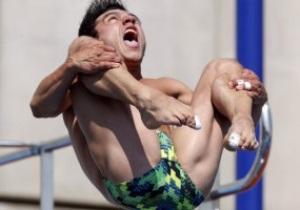 Фотогалерея. Прыгуны в воду повеселили перекошенными лицами