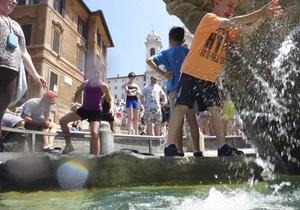Новини Італії: Аномальна спека в Італії - Погода в Італії - Температура повітря в Італії наблизилася до 40 градусів - відпочинок в Італії
