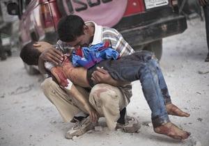 ООН: За час війни в Сирії загинули понад 100 тисяч осіб