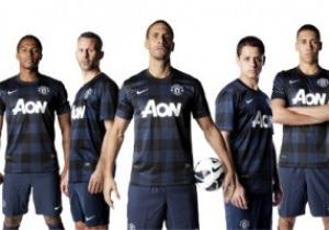 Манчестер Юнайтед показал новую клетчатую форму