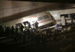 В Іспанії зійшов з рейок поїзд: 77 загиблих