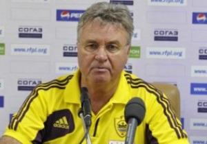 Гуса Хиддинка дисквалифицировали на шесть матчей