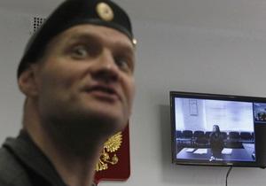 Росія - Альохіна - суд - відмова у звільненні