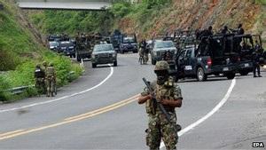 У Мексиці в боях із поліцією загинули 22 людини