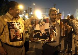 Єгипет - міністр оборони - заклик до протестів