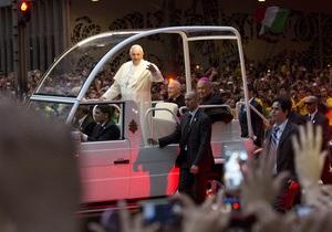 Папа Римський - візит - Бразилія