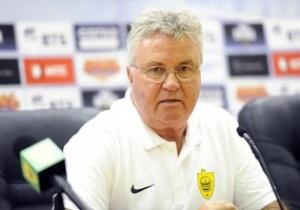 Новини футболу - Гус Хіддінк покинув махачкалінський Анжі