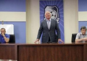 Президент Черноморца озвучил команде задачу на сезон