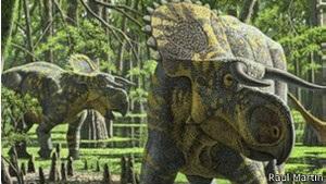 Науковці описали новий вид рогатого динозавра