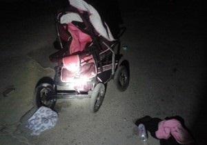 Новини Донецької області - ДТП - У Маріуполі затримали водія, який збив на смерть дев ятимісячну дитину