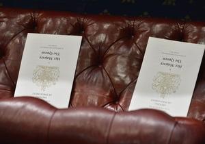Британська палата лордів схвалила закон про одностатеві шлюби