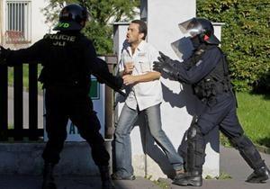 Новини Чехії - цигани - У Чехії відбувся масштабний антициганський мітинг, затримані десятки людей