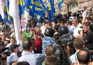 Право на вибори: активісти в Києві готові до подальших протестів