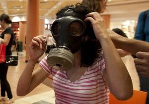 Сирія - хімічна зброя