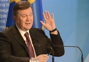 Янукович - день народження - Крим