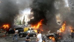 На околицях Бейрута вибухнуло заміноване авто: десятки поранених