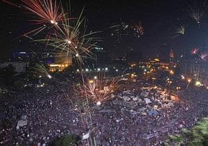 У Єгипті святкують усунення від влади президента Мурсі