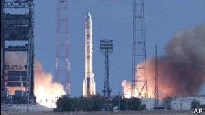 Російська ракета вибухнула після старту