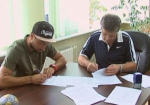 Днепр и Черноморец обменялись футболистами