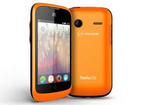 ZTE випустила смартфон на Firefox OS
