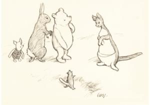 З молотка пустять перші ілюстрації до Вінні-Пуха