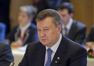 Лідери Вишеградської четвірки мають намір обговорити з Януковичем питання євроінтеграції України