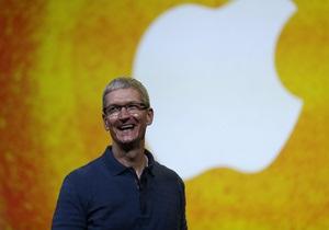 Apple - Тім Кук - продаж - акції
