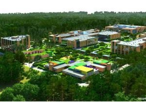 новини Києва - У Конча-Заспі розпочали будівництво елітної школи-інтернату