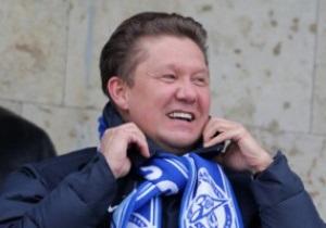 Голова Газпрому бачить в Об єднаному турнірі перший крок до спільного чемпіонату Росії та України