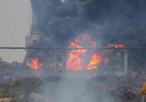 Новини Криму - пожежа в Керчі - У Керчі стався пожежа в порту