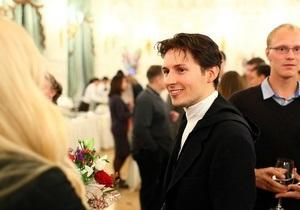 Павло Дуров був помічений на вечірці у Санкт-Петербурзі