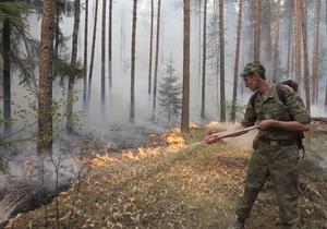 В Україні очікується висока пожежна небезпека