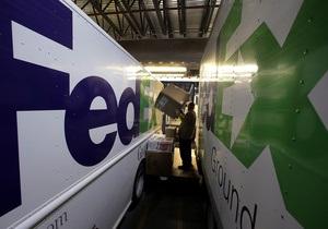 Крупнейшая в мире курьерская служба наращивает прибыль благодаря наземным перевозкам