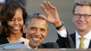 У Берліні Обама закликатиме Росію скоротити ядерний арсенал ще на третину