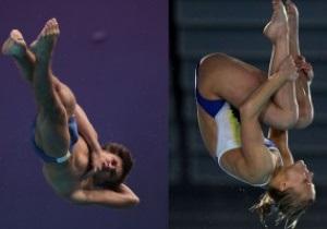 Украинцы выиграли золото на чемпионате Европы по прыжкам в воду