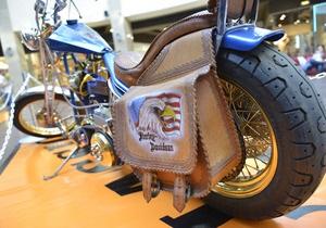Міжнародна виставка ретро-байків Harley Davidson