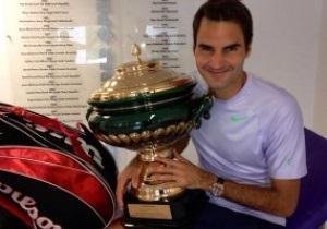 Новий рекорд. Федерер вийшов на третє місце за кількістю титулів в історії тенісу