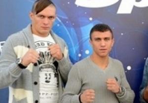 Усик вирушив разом з Ломаченком на зустріч з американськими промоутерами