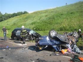 У Полтавській області у ДТП загинули три людини