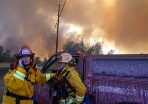 США - евакуація - пожежа