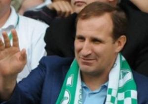 Президента Ворсклы условно отлучили от футбола на год