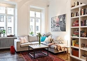 Інтер єр однокімнатної квартири - скандинавський стиль в інтер єрі