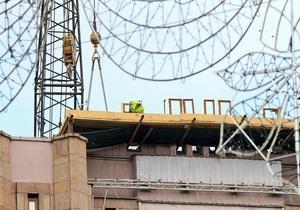Два верхні поверхи київського ЦУМу будуть знесені