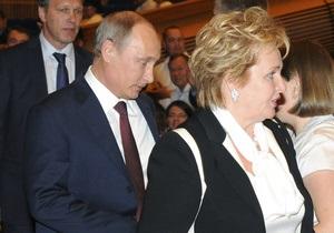 Путін розлучився з дружиною