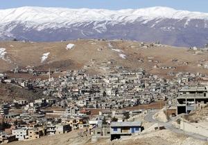 Сирійський вертоліт випустив ракети по сунітському місту в Лівані