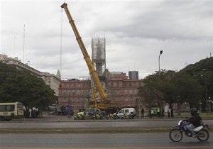 Новини Аргентини - Президент Аргентини й мер Буенос-Айреса посварилися через пам ятник Колумбу