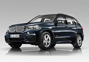 BMW X5 - BMW показала кросовер X5 зі спортивним пакетом
