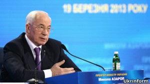 Азаров: розірвати газовий контракт через суд неможливо