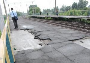 Київ - електричка - У Києві закрили на ремонт одну зі станцій міської електрички